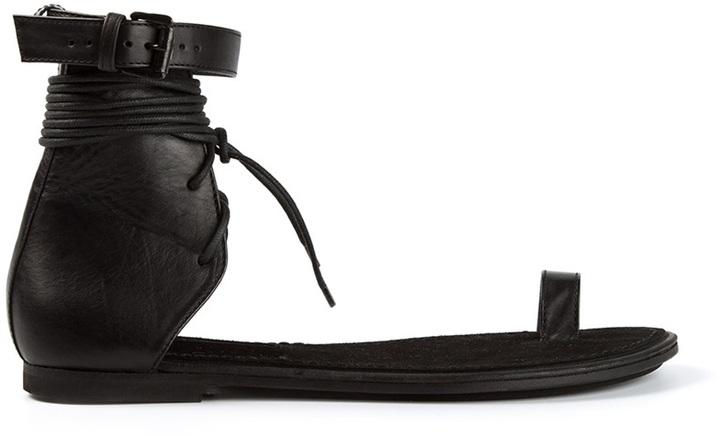 Ann Demeulemeester lace-up sandal