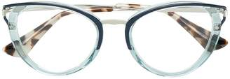 Prada cat eye-frame glasses