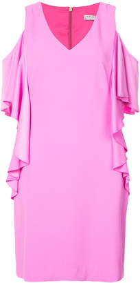 Trina Turk frill sleeve dress