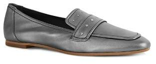Reiss Women's Elba Metallic Leather Loafers