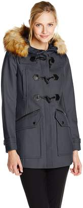 Andrew Marc by Women's Cara Wool Toggle Coat