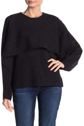 Love Token Layered Popover Knit Sweater