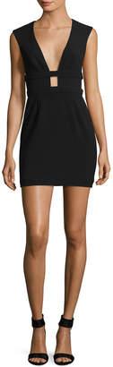 Jay Godfrey Redding Strap Detail Mini Dress