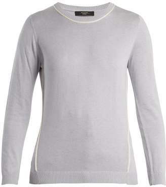 Max Mara Pagode Sweater - Womens - Light Blue