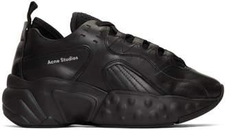 Acne Studios Black Manhattan Sneakers