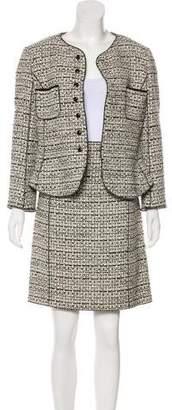 Nina Ricci Tweed Skirt Suit