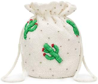 Ganni monticello cactus bucket bag