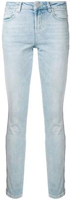 Zoe Karssen light wash skinny jeans