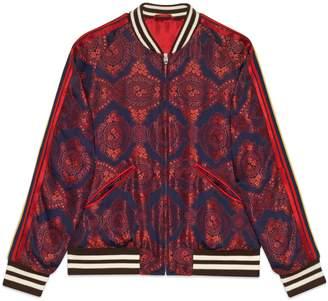 Gucci Baroque jacquard bomber jacket