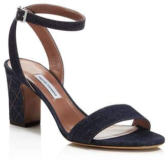 Tabitha Simmons Women's Leticia Denim Ankle Strap High-Heel Sandals - 100% Exclusive