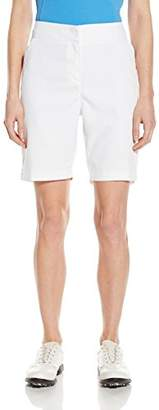 "PGA TOUR Women's 19"" Comfort Stretch Solid Woven Short"