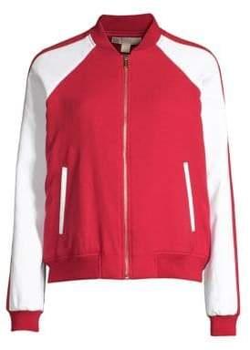 MICHAEL Michael Kors Stripe Track Jacket