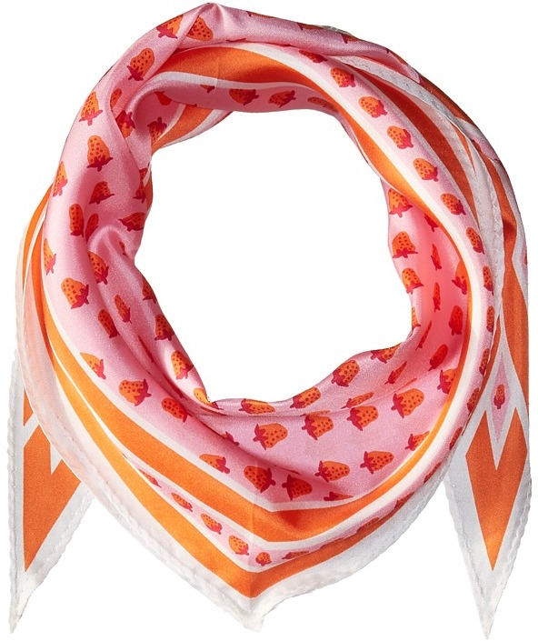 Echo Design - Strawberry Silk Diamond Scarf Scarves