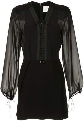 Dion Lee sheer lacing dress