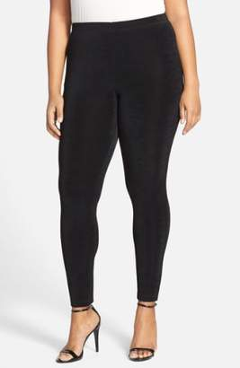 Vikki Vi Stretch Knit Slim Pants