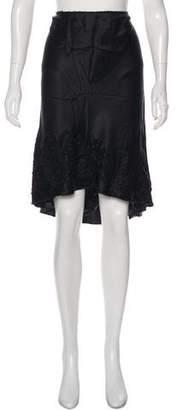 Philosophy di Alberta Ferretti Silk Knee-Length Skirt