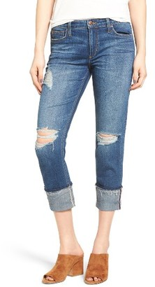 Women's Joe's Ex-Lover Markie Crop Boyfriend Jeans $189 thestylecure.com