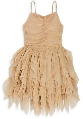 Bardot Junior Girls' Emilea Metallic Tutu Dress - Little Kid