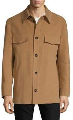 Valentino Button-Through Cotton Jacket