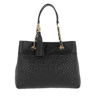 Tory Burch Fleming Tote Small Leather Black