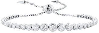Prive Jemma Wynne Luxe Diamond Slider Bracelet in 18K White Gold