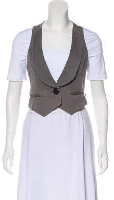 IRO Shawl-Lapel Casual Vest
