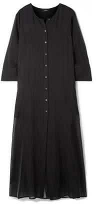 Theory Weekend Cotton-gauze Maxi Dress