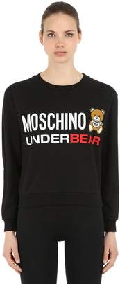 Moschino Underbear Cotton Sweatshirt