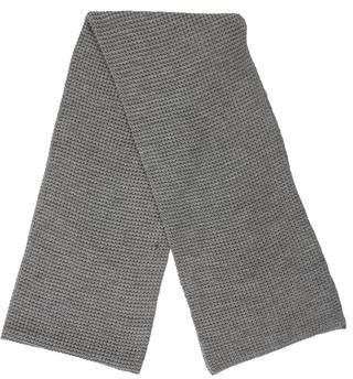 Akris Punto Wool Rib Knit Scarf