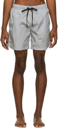 Everest Isles Grey Monochrome Swim Shorts