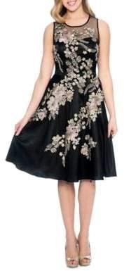 Decode 1.8 Floral Cocktail Dress