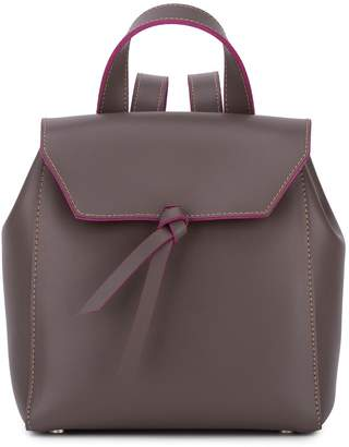 Alexandra de Curtis Hepburn Mini Backpack Taupe