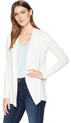 Lark & Ro Women's Lightweight Long Sleeve Mid-Length Cardigan Sweater