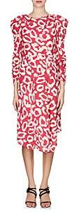 Isabel Marant Women's Carley Silk Crêpe De Chine Dress - Pink