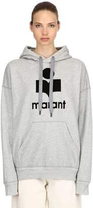 Etoile Isabel Marant Mansel Logo Cotton Sweatshirt Hoodie