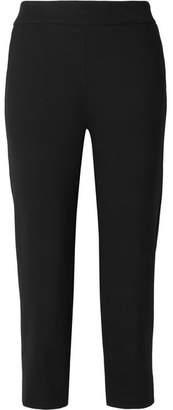 Hatch Beckett Cropped Twill Straight-leg Pants - Black