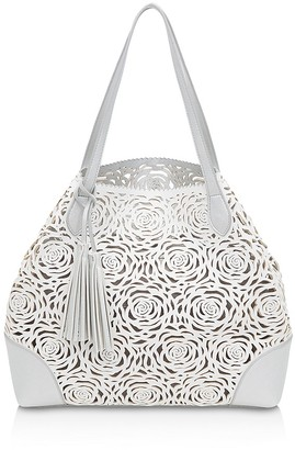 Buco Grand Flower Bomb Tote $225 thestylecure.com