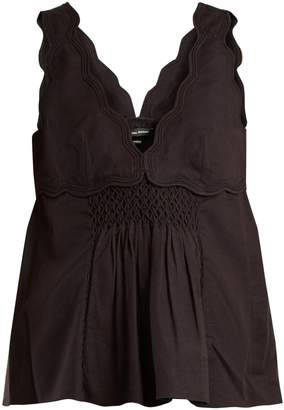 Isabel Marant Wigston cotton sleeveless top