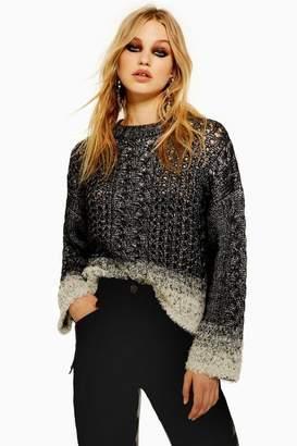 Charcoal Knit Jumper - ShopStyle UK aaa1b953b