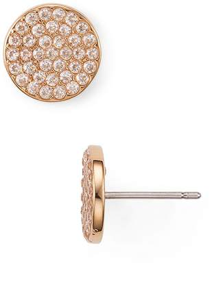Kate Spade Pavé Circle Earrings