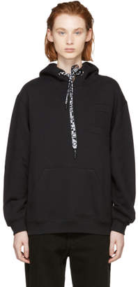 Proenza Schouler Black PSWL Hooded Sweatshirt