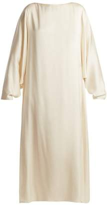 The Row Impey Silk Dress - Womens - Cream