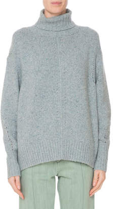 Isabel Marant Heavy Cashmere Turtleneck Sweater
