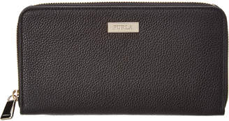 Furla Ritzy Extra Large Leather Zip Around Wallet