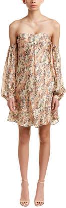 Haute Hippie My Amour Silk-Blend Shift Dress