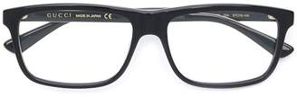 Gucci rectangle frame glasses