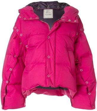 Puma Maison Yasuhiro cropped puffer jacket