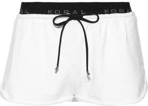 Koral Jacquard-Trimmed French Terry Shorts