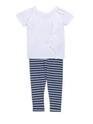 Splendid Baby's, Toddler's& Little Girl's Striped Leggings Set