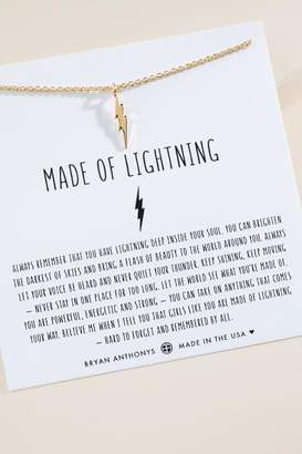 francesca's Bryan Anthonys Made of Lightning Necklace - Gold